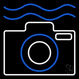 Underwater Camera 2 LED Neon Sign