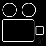 Video Camera Logo LED Neon Sign