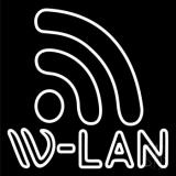 W Lan Block LED Neon Sign