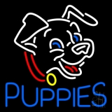 Blue Puppies LED Neon Sign