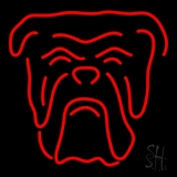 Red Bull Dog Logo LED Neon Sign