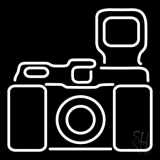 Camera Logo 3 LED Neon Sign