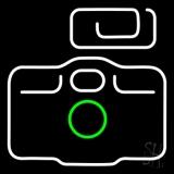 Camera Logo 4 LED Neon Sign