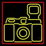 Camera Logo 6 LED Neon Sign