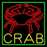 Crab Block With Logo LED Neon Sign