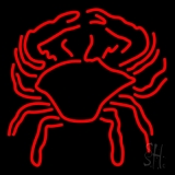 Crab Block With Logo 1 LED Neon Sign