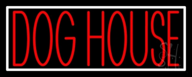 Dog House Block 1 LED Neon Sign
