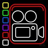 Film Camera LED Neon Sign