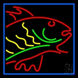 Fish Logo 1 LED Neon Sign