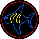 Fish 4 LED Neon Sign