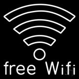 Free Wifi LED Neon Sign
