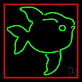 Green Fish LED Neon Sign