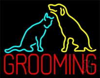 Grooming Logo 1 LED Neon Sign