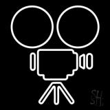 Movie Camera LED Neon Sign