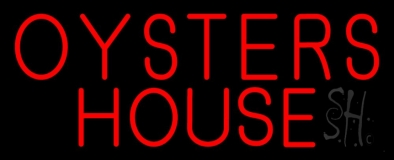 Oyster House Block LED Neon Sign