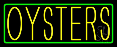 Oysters LED Neon Sign