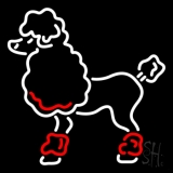 Poodle LED Neon Sign