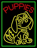 Puppies Logo LED Neon Sign