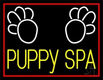 Puppy Spa 1 LED Neon Sign
