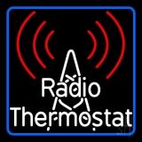 Radio Thermostat LED Neon Sign