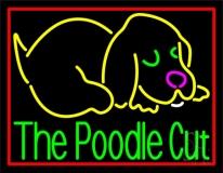 The Poodle Cut LED Neon Sign