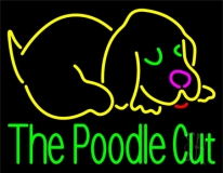 The Poodle Cut 1 LED Neon Sign