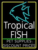 Tropical Fish Logo LED Neon Sign