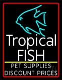 Tropical Fish Logo 1 LED Neon Sign