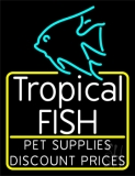 Tropical Fish Logo 2 LED Neon Sign
