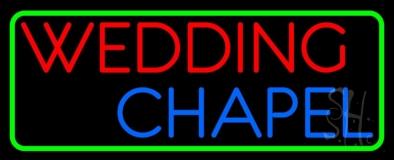 Wedding Chapel Block LED Neon Sign