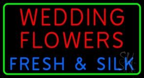 Wedding Flowers LED Neon Sign