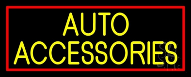 Auto Accessories Block 1 LED Neon Sign