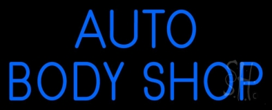Auto Body Shop 1 LED Neon Sign