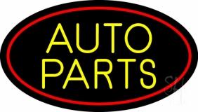 Auto Parts 1 LED Neon Sign