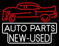 Auto Parts New Used Car Logo LED Neon Sign