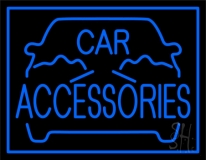 Blue Car Accessories LED Neon Sign