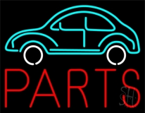 Car Logo Red Parts LED Neon Sign