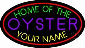 Custom Oyster LED Neon Sign