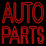Double Stroke Auto Parts LED Neon Sign