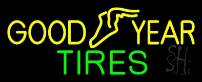 Goodyear Tires LED Neon Sign