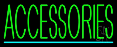 Accessories Turquoise Lines LED Neon Sign