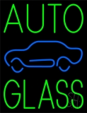 Green Auto Glass Blue Car LED Neon Sign