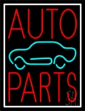 Red Auto Parts Car Logo 1 LED Neon Sign