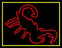 Scorpion 1 LED Neon Sign