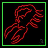 Scorpion Red 1 LED Neon Sign