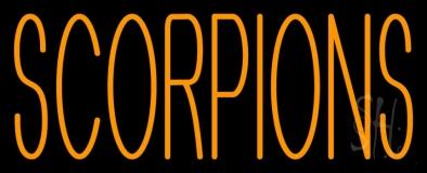 Scorpions LED Neon Sign