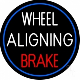 Wheel Aligning Brake LED Neon Sign