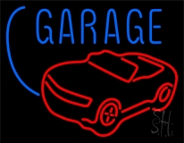 Car Logo Garage Block LED Neon Sign
