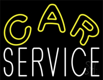 Car Service LED Neon Sign