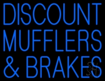 Discount Muflers And Brakes LED Neon Sign